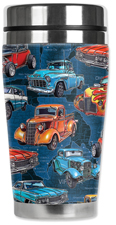 Hot Rod Trucks Travel Mug