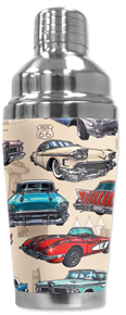 50's Hot Rods Cocktail Shaker