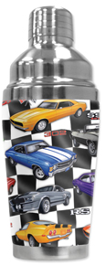 60's Hot Rods Cocktail Shaker