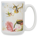 Heade: Orchids & Hummingbirds Coffee Mug