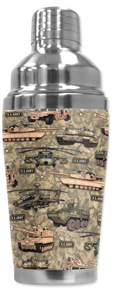 Army Cocktail Shaker