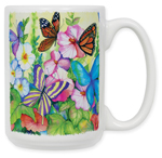 Garden Butterflies Coffee Mug