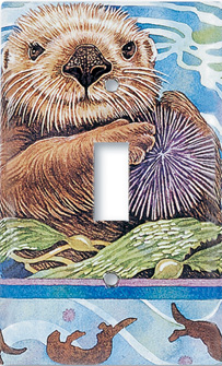 otter wall switch plate