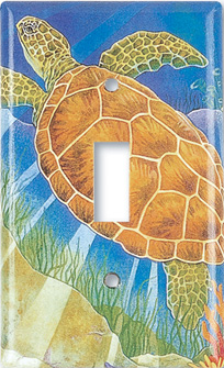 sea turtle switch plate
