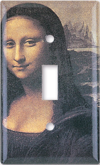 DaVinci: Mona Lisa Switch Plate