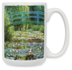 Monet: Japanese Footbridge Coffee Mug