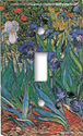 Van Gogh - Irises Switch Plate