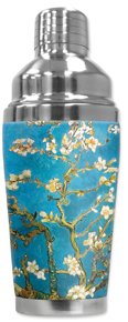Cocktail Shaker - Van Gogh: Almond Blossoms