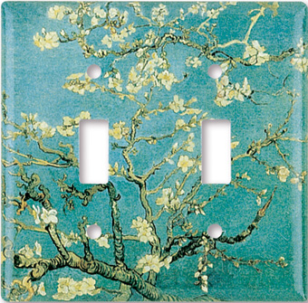 Van Gogh: Almond Blossoms Switch Plate
