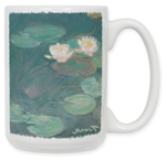 Monet: Water Lilies (Close-Up) Coffee Mug