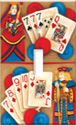Poker King & Queen Switch Plate