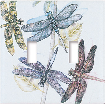 Dragonflies Switch Plate