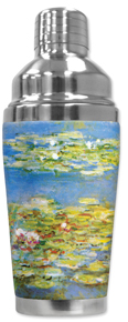 Monet: Water Lilies Cocktail Shaker