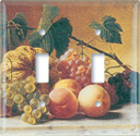 Hetzel: Fruit Still Life Switch Plate