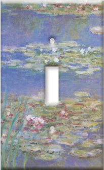 Monet: Water Lilies Switch Plate