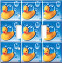 Switch Plate - Rubber Duckies