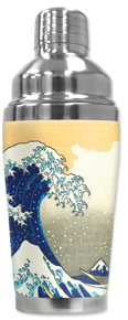 Cocktail Shaker - Hokusai: Great Wave