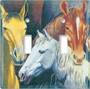 Horses Switch Plate