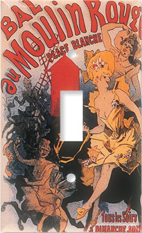 Moulin Rouge Switch Plate