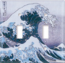 Hokusai: Great Wave Switch Plate