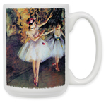 Degas - Two Dancers Coffee Mug