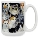 Just Cats! Coffee Mug