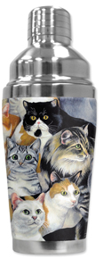 Just Cats! Cocktail Shaker