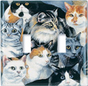 Just Cats! Switch Plate