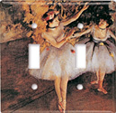 Degas - Two Dancers Switch Plate