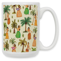 Hula Girls Coffee Mug