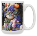 Redoute: Grapes in a Vase Coffee Mug