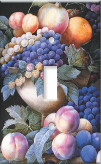 Redoute: Grapes in a Vase