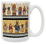 Musical Dogs Coffee Mug