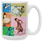 Degas - Dance Collage Coffee Mug