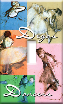 Degas - Dance Collage