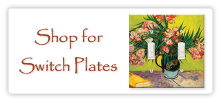 Decorative Wall Plate Covers switch plates, outlet covers, wall plates, coasters, mouse pads